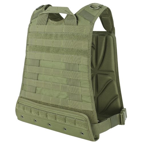Condor CPC Compact Plate Carrier Olive Drab Green Back