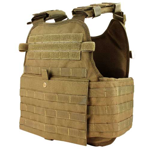 Condor-MOPC-Modular-Operator-Plate-Carrier-Coyote-Brown