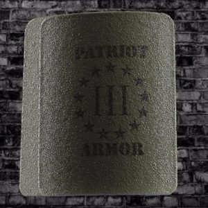 Patriot NIJ Level III Curved Side Plates